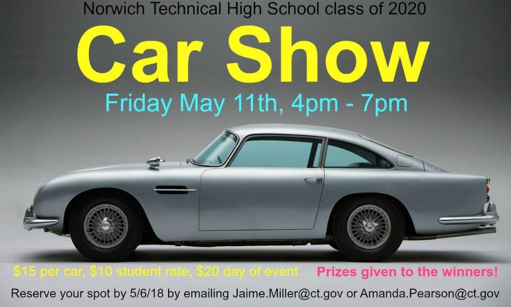 Meriden Markham Airport Car Show